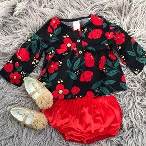 Carter's red poppy blouse *Brand New*